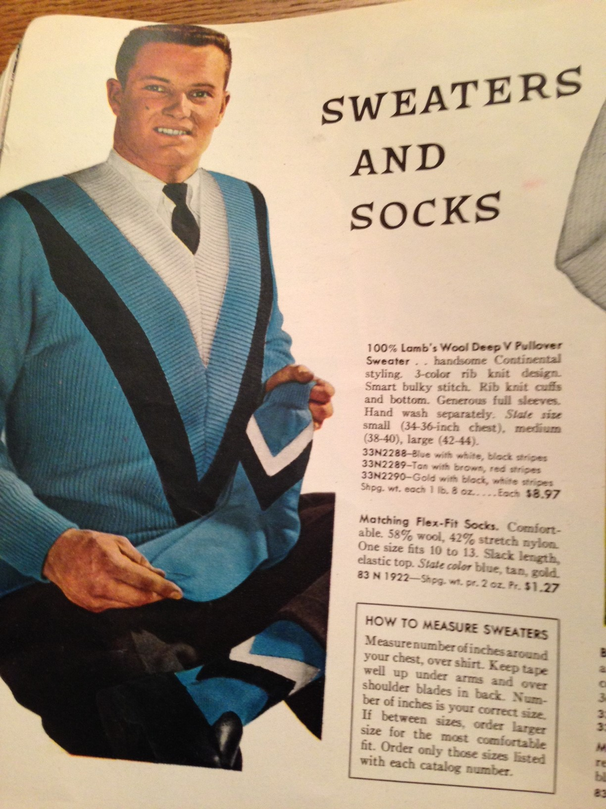 gentleman socks knit